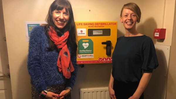 HEARTSWELL SOUTH WEST DONATES LIFE SAVING EQUIPMENT TO TREVI HOUSE